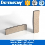 China BOREWAY Stone Block Cutting Diamond Segments for Granite Slab Cutting factory