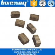 China Boreway 1400mm High Grade Diamond Disc Segment for Block Cutting of Granite factory
