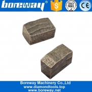 China Boreway 1800mm M shape Diamond Segment for Cutting Stone factory