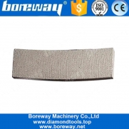 China Boreway 24 Inch Diamond Saw Blade Segment Tips for Cutting Sandstone factory