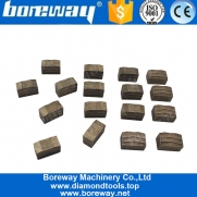 China Boreway 2500MM M Shaped Multi-Blade Diamond Blade Segment For Cutting Hard Granite factory