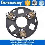 China Boreway 270MM Husqvarna Redi-lock Bush Hammer Plate For Grinding factory