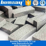 中国Boreway Arix Diamond Segment for Core Drill Bit Cutting Concrete Stone工場