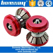 China Boreway Cnc Tools Diamond Router Bits For Stone Bits Profiling factory