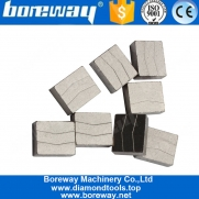 China Boreway Cold Press Diamond Tools Of Segments For Cutting Granite factory