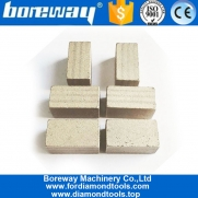 China Boreway Cutting Tools 1600mm Diamond Segment for Cutting Marble Blocks Stone factory
