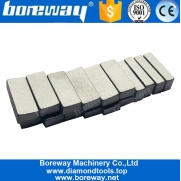 China Boreway Diamond Stone Cutting Segments For Marble Welding Machine In Saw Blade factory