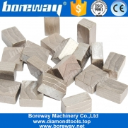 China Boreway Diamond circular Saw Blade Segments for Block of various hard stone Manufacturer factory