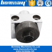 China Boreway Factory Profession Supply Sandblasting Bush Hammer Roller for Grinding Stone Marble Granite factory