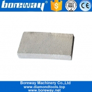 China Boreway Flat Shape Smooth Cutting Diamond Segments For Granite Saw Blade factory