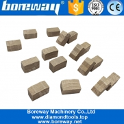 China Boreway Good Price M Shape Diamond Block Segment Tools For Cutting Stone factory