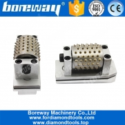 China Boreway High Quality 99S Fickert Type Bush Hammer Rollers Grinding Tools For Grinding Stone Manufacturer factory