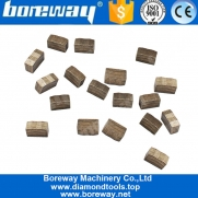 China Boreway M Step Diamond Blade Segment for Granite In Indian Market factory