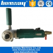 China Boreway Pneumatic Air Polisher Hotselling Stone Air Wet Angle Grinder Pneumatic Polisher factory