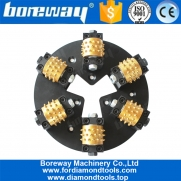 China Boreway Profession 270MM HTC Diamond Bush Hammered Plate With 6 Roller 45S Teeth factory