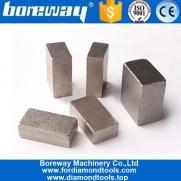 China Boreway Supply 1600mm Diamond Segment Marble Block Cutting for Pakistan factory