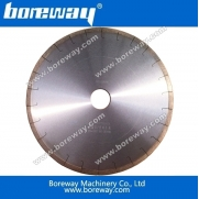 China Boreway diamond edge cutting blade and segment for ceramic factory