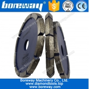 China Boreway diamond segmented crack chaser blades factory