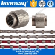 China Boreway diamond wire and beads for stone,diamond wire saw manufacturers factory