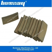 China Boreway edge cutting blade and segment for sandstone factory