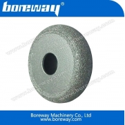 China Brazed Flat Diamond Rock Grinding Wheel factory