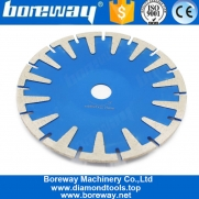 China Boreway T-Shape Head Diamond Saw Blade Concrete Granite Cutting Disc High Grade Professional Diamond Cutting Blade Sink Cutter Tool factory