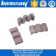 China Construction Cutting and Drilling Core Bit Segments for Heavily Reinforced Concrete factory