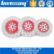 China Cutting Shaping Polishing stone diamond grinding cup wheel wholesale double sided vacuum brazed diamond Cutting Grinding Disc factory