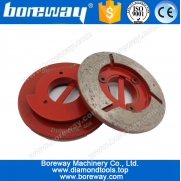 China D100*20W*40# continuous rim snail lock diamond cup grinding wheels,snail lock diamond cup grinding wheels factory