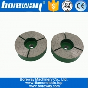 China D100x30wx6T Diamond Squaring Metal Disc For Grinding Granite factory