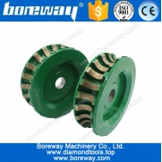 China D120*V20*20H segmented diamond profile grinding wheels for ceramic,ceramic diamond profiling wheels factory