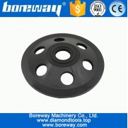 China D125x22.23mm PCD Diamond Cup Abrasive Wheel For Concrete factory