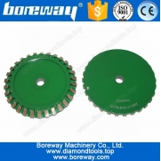 China D150 ceramic chamfering grinding wheel factory