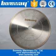 China D354x10x2.8x50mm diamond cutting discs for Microcrystalline Ceramic factory