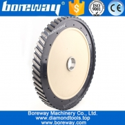 China D400mm segment wide 25mm diamond silent core milling wheel for grinding granite and marble factory