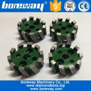 China D50*20T*10H segmented diamond stubbing wheel with adapter factory
