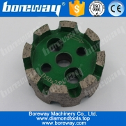 China D50*25T*10H continious standard diamond stubbing wheel factory