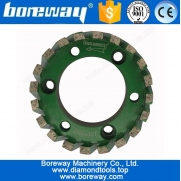 China D86x40Tx50H Diamond Segmented Stubbing Cutter Wheel For Sink Hole factory