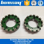 China D90*25T*50H heavy duty diamond gauging wheel for stone factory