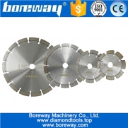 China Dia.115MM-230MM available Laser Welded Diamond Saw Blade Segmented blade China concrete saw blade manufacturer factory