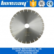 China Dia.350mm Professional quality Diamond Silent Saw Blade Sandwich Steel core Granite cutting Disc Wheel bore 50mm 60mm factory