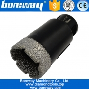 China Dia.38mm Vacuum Brazed Diamond Core Drill Bits For Drilling porcelain granite marble Masonry factory