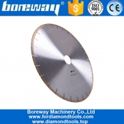 China Diameter 350mm Silent Diamond Cutting Marble Saw Blade factory
