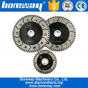China Dia. 75MM 115MM 125MM Diamond Dual Saw Blade wholesaler Diamond Cutting Grinding Disc  for Granite Marble Concrete manufacturer factory
