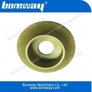 China Diamond Brazed Profile Wheel for Stone factory