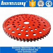 China Diamond Calibrating Milling Wheels For Concrete Bridge Saw Beds factory