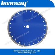 China Diamond Coated Concrete Floor Cutting Blade with Lazer Welded factory