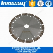 China Diamond Corrugated Cutting Saw Disc For Quartz D184*2.4*10*25.4mm factory
