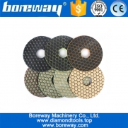 China Diamond Dry Use Polishing Pad for Concrete Ceramic Grinding Exports the European and American market factory