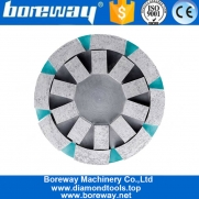 China Diamond Sinter Round Satellite Cup Wheel Diamond Grinding Tool Abrasive Disc Polishing Head For Calibration Slab And Tile factory